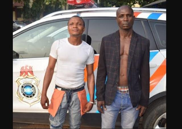Police Arrested 2 Money Doubler In Lagos, Explain Their Modus Operandi (Photos)