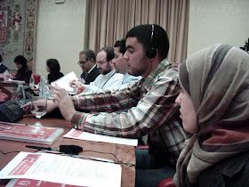 Construyendo Comunidaes con Futuro. Gemma Ballesteros, Abdelaziz Hammaoui y Ali Boussaid