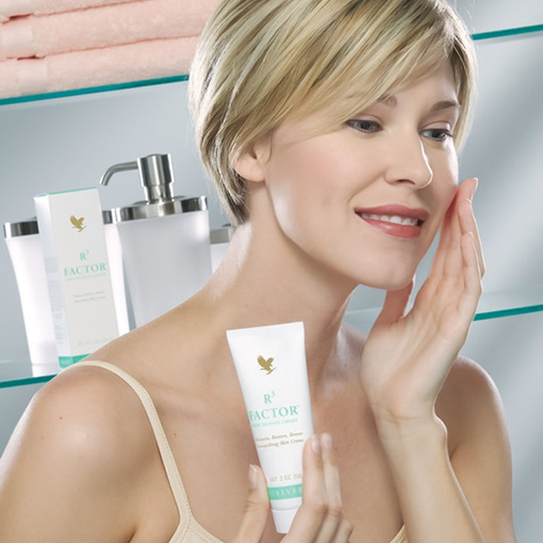 Cura del viso donna- Forever Living Products