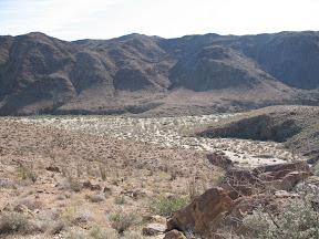 Entrance to Rockhouse Canyon in the southern Anza Borrego desert