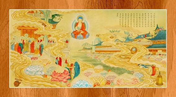 Bộ ảnh đẹp minh họa bản Kinh A Di Đà 5