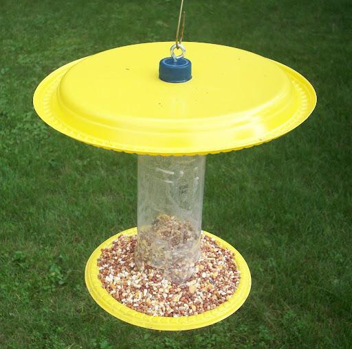 Conosciuto Costruire mangiatoie fai da te per uccelli selvatici (mangiatoia  OS59