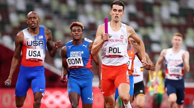 Segunda medalla para RD en Tokio; Plata en 4 x 400 m relevos mixto