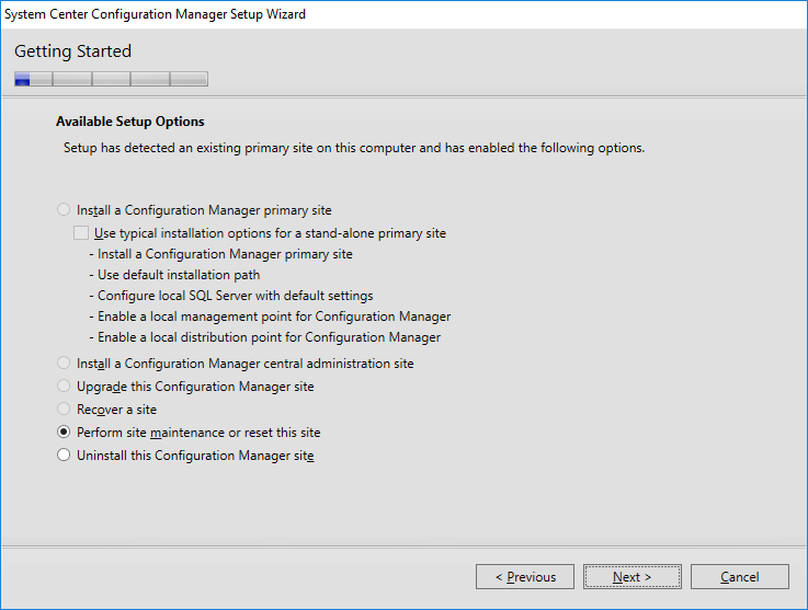 How to install the SCCM 2016 Current Branch 1610 license by