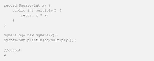 How to use Record in Java? Example