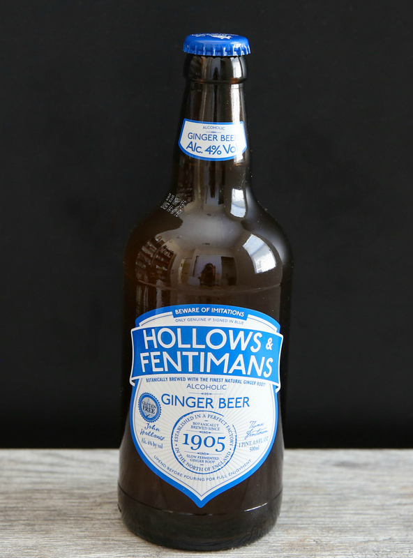 photo of a bottle of Hollows & Fentiman's Alcoholic Ginger Beer