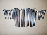 Stainless Steel Head Bolts, all the ones you can see only.. 185.00