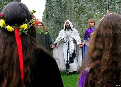 Druid Circle, Celtic And Druids