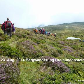 Bergwanderung Dreibündenstein