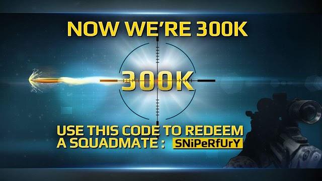 Sniper Fury Oyunu 300K Beğeniyle Ulaştı Ve Hediye Veriyor Kaçırmayın