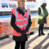 OIC - ENTSIMAGES.COM - Joanna Read - Principal LAMDA at the  VIP 'topping out' of the new LAMDA building in London 20th January 2015 Photo Mobis Photos/OIC 0203 174 1069