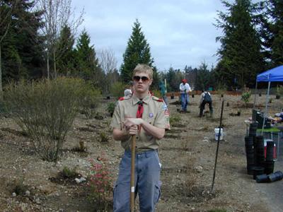 Patrick LaValla\'s Eagle Project - April 2002