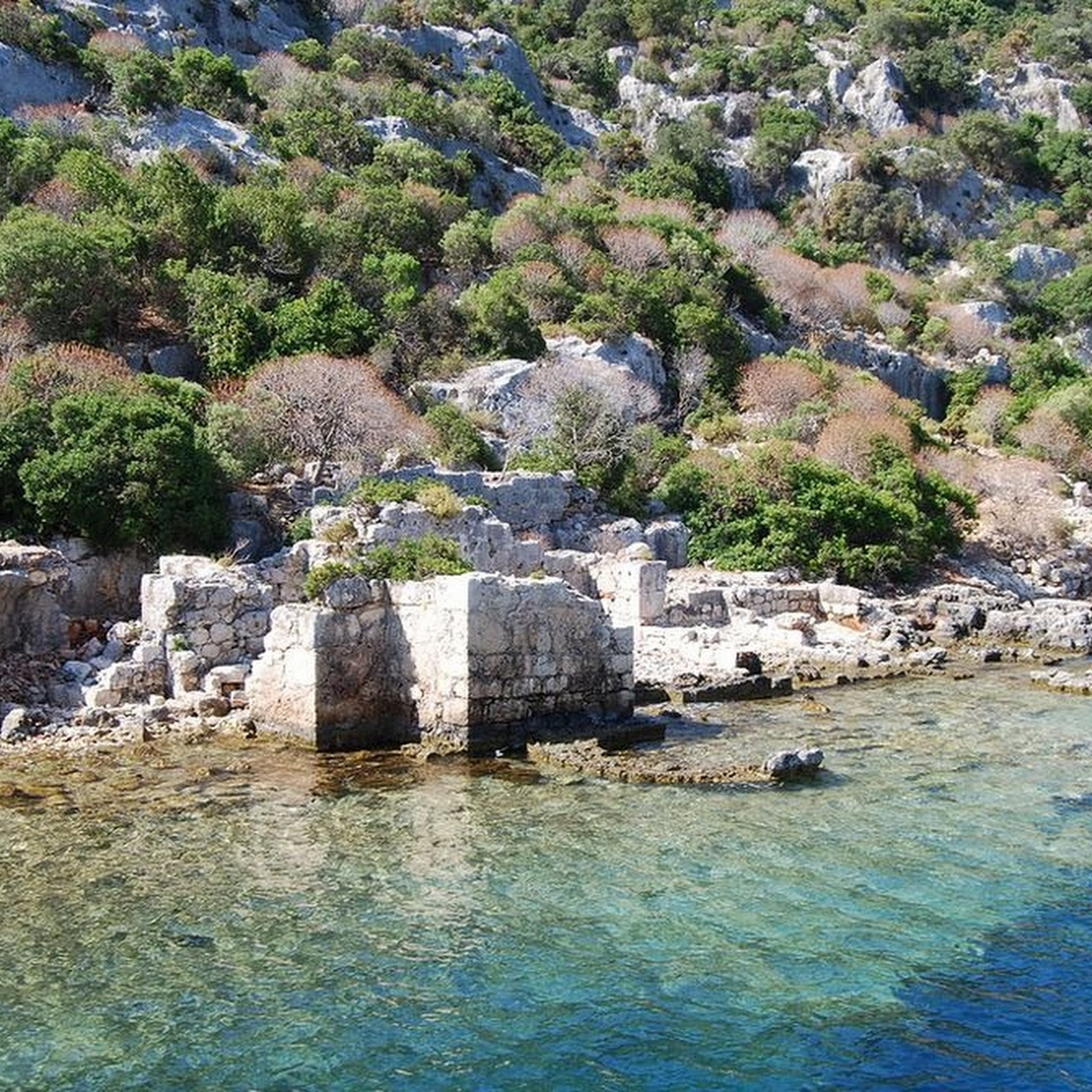 The Sunken City on Kekova Island