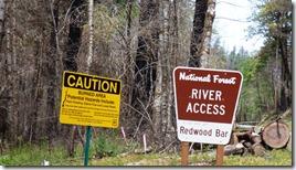 Redwood Bar River Access