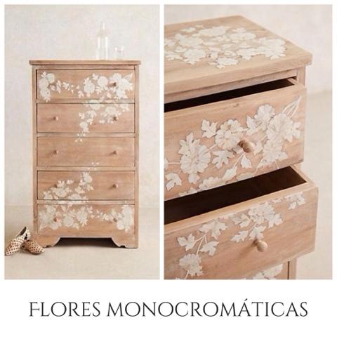 Muebles con flores muy modernas la c moda encantada - Muebles la comoda ...