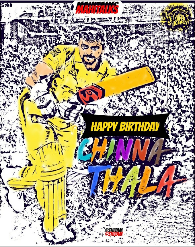 Happy Birthday Raina, Chinna Thala, Comics