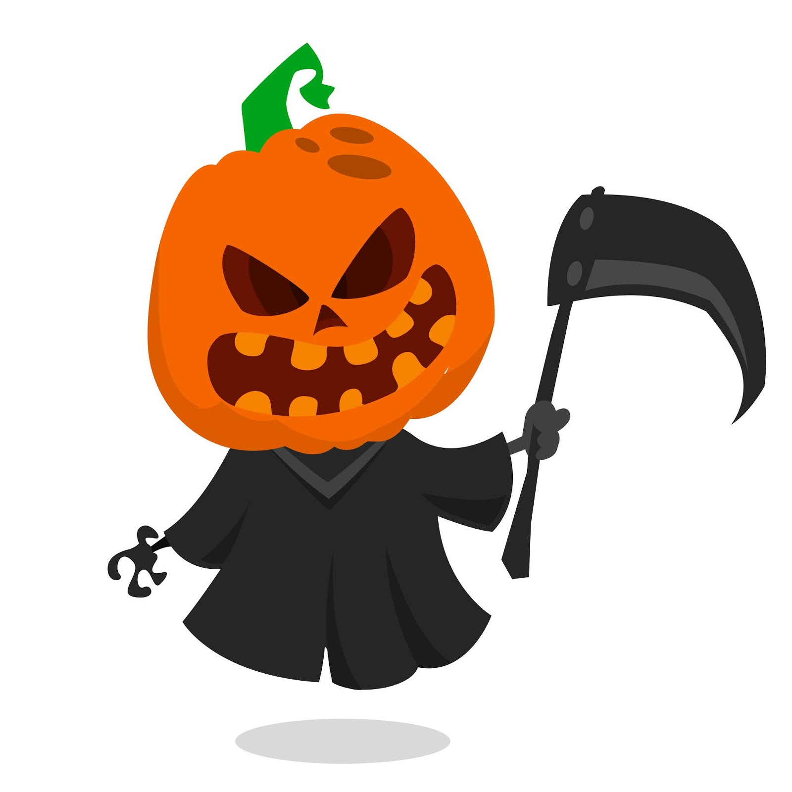 Cartoon Halloween Pumpkin Head Free Download Vector CDR, AI, EPS and PNG Formats
