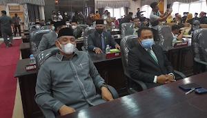 Paripurna Pelantikan Ketua DPRD Inhu Pengganti Antar Waktu
