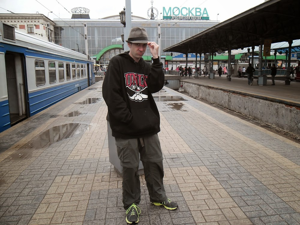 Yaroslavskiy Station, about to head to the Golden Ring for the first time, day trip!!!