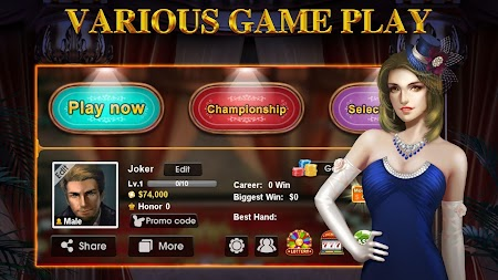 DH Texas Poker - Texas Hold'em APK screenshot thumbnail 13