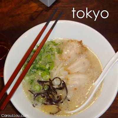 CarouLLou.com CarouLLou in Tokyo Japan Ramen +-