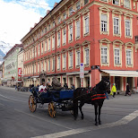 horse and carridge in Innsbruck, Tirol, Austria