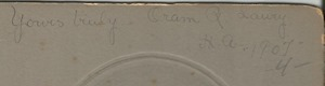 Oram Craigs back Number 1809 (2)