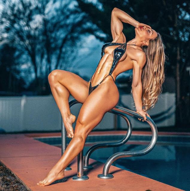 Sunny Andrews muscular legs