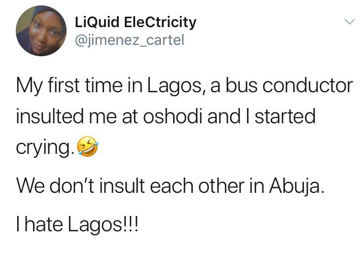 Lagos girl who cried