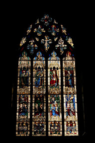 Stained glass window, Chartres