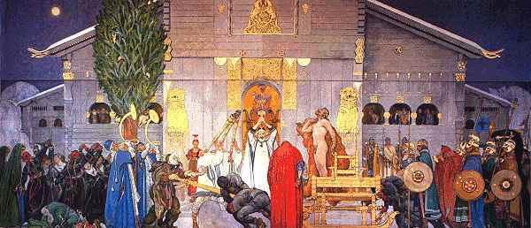 Midvinter Blot, Asatru Gods And Heroes