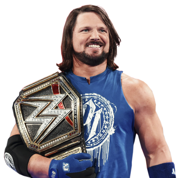 WRESTLING RENDERS & BACKGROUNDS: AJ STYLES