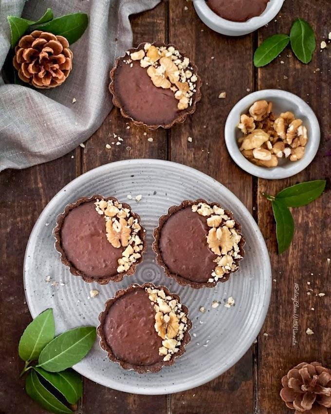 Chocolate Hummus Tarts Recipe | Breakfast Care