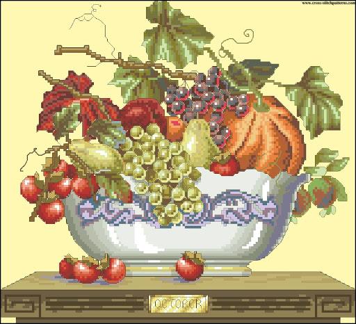 October Fruit chart