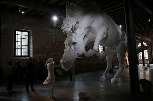 ITALY-BIENNALE/ART