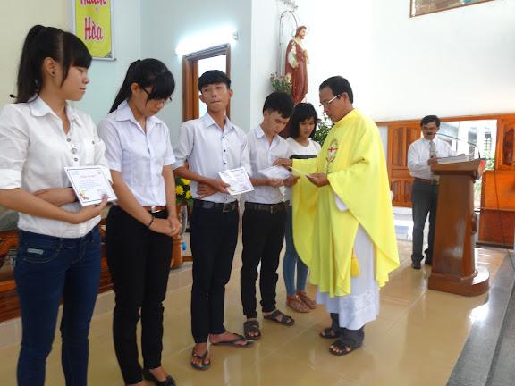 GIÁO XỨ NINH TRANG tổng kết năm học giáo lý 2014-2015
