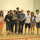 2012第三次壁球排名賽