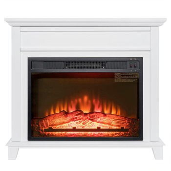 freestanding fireplace heater
