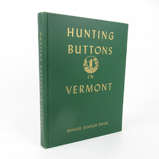 'Hunting Buttons in Vermont' SIGNED & RARE Book