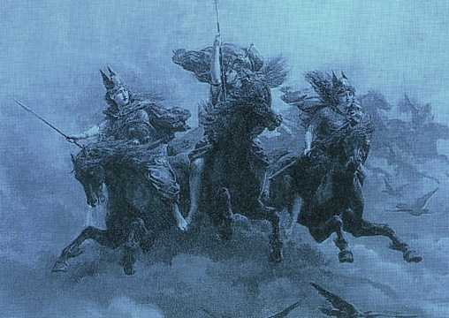 The Valkyries Ride, Asatru Gods And Heroes