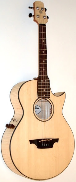 Lukas Brunner guitars detachable neck jumbo tenor ukulele option