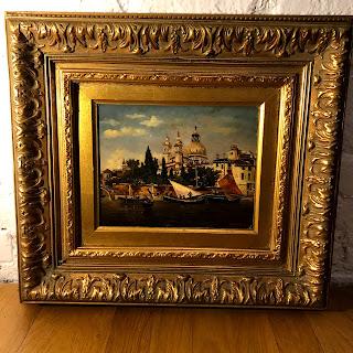N. Bertin Signed Oil on Panel