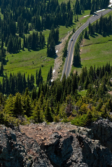 Mt. Rainier National Park -- Sunrise area..
