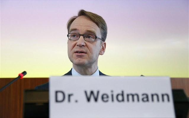 Παραιτήθηκε ο Γενς Βάιντμαν από την προεδρία της Bundesbank