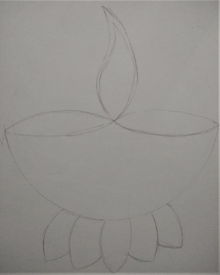Diwali mandala art
