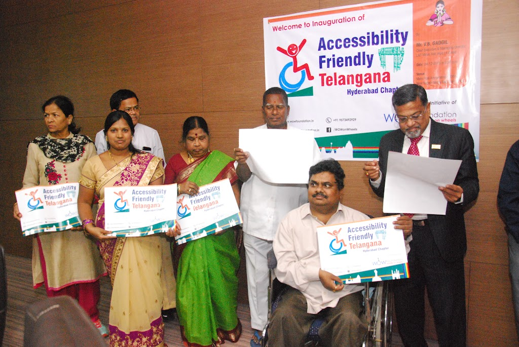 Launching of Accessibility Friendly Telangana, Hyderabad Chapter - DSC_1231.JPG