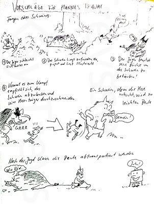 otterbuch: Fangen eines Schweines