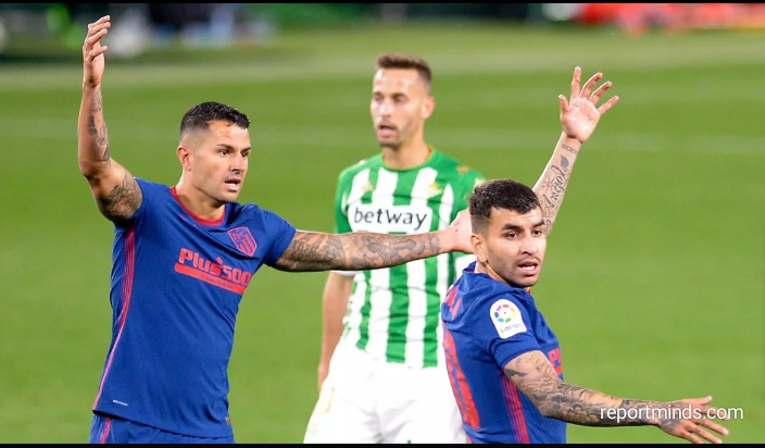 La Liga: Real Betis held Atletico Madrid to a 1-1 draw (Highlights) 2020-2021
