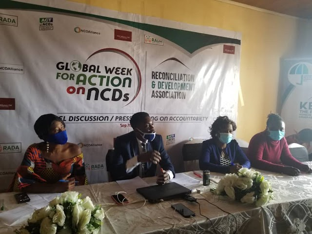 Reconciliation and Development Association Spearheads Fight against Non Communicable Diseases