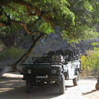 Tuli Block - our safari vehicle